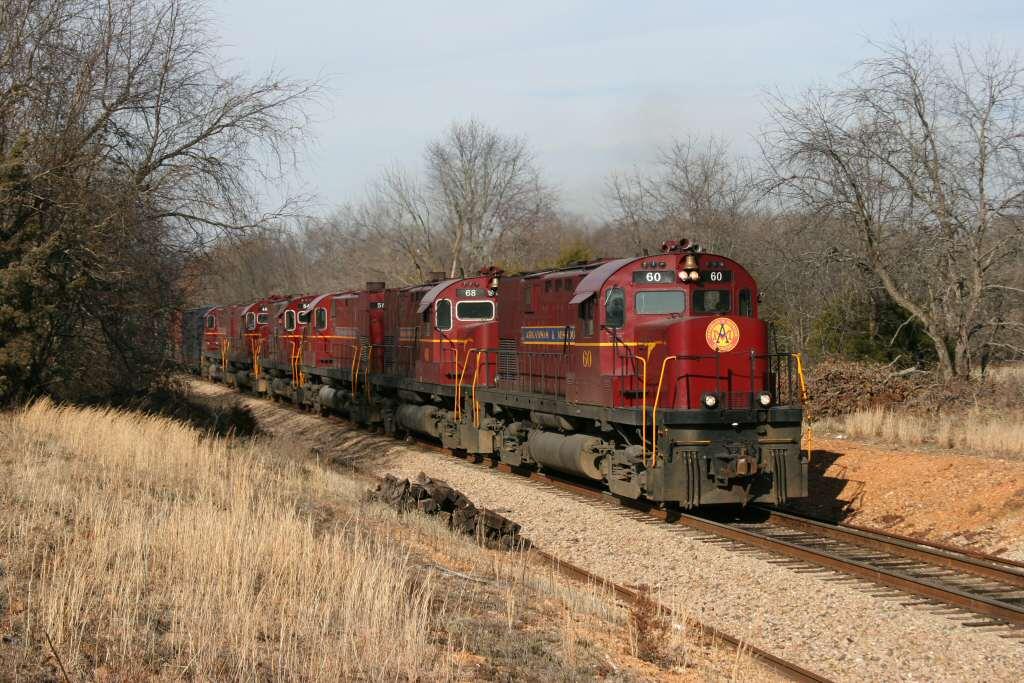 Arkansas & Missouri Railroad Monett Turn