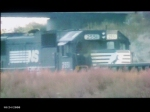 NS 2551 the trailer on NS mixed freight train