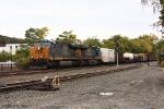 CSX Q437 at Worcester, Massachusetts