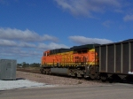 BNSF 5628 Brings up the Rear of a Coal Train