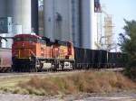 Westbound Empties Wait Behind the Broken Down Train at Hampton