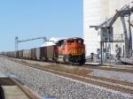 BNSF 9385 Serving as a DPU