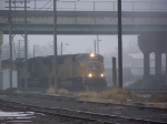 UP 4732 Emerges from the Fog