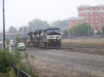 Norfolk Southern 9540 and 2676