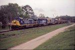 CSX T108 coal train