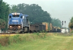 CSX 7123 leading a NB MOW