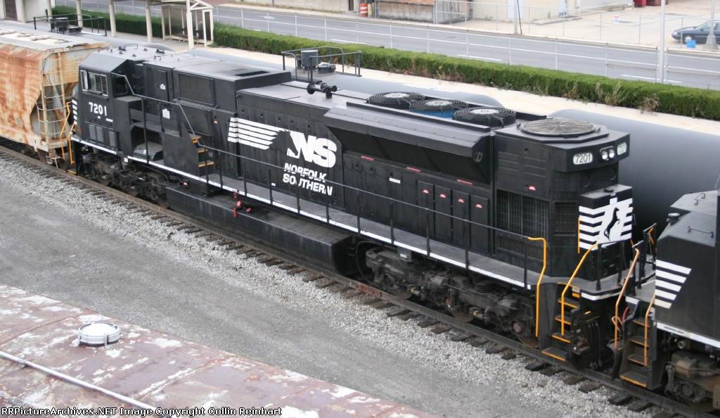 SD80MAC 7201