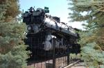 "Great Northern Railway (GN) Baldwin 4-8-4 S-2 Class ""Northern"" Steam Locomotive No. 2584 on display"