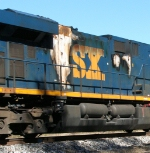 Heading for the shop: CSX 5247