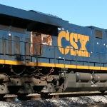 Heading for the shop: CSX 5413
