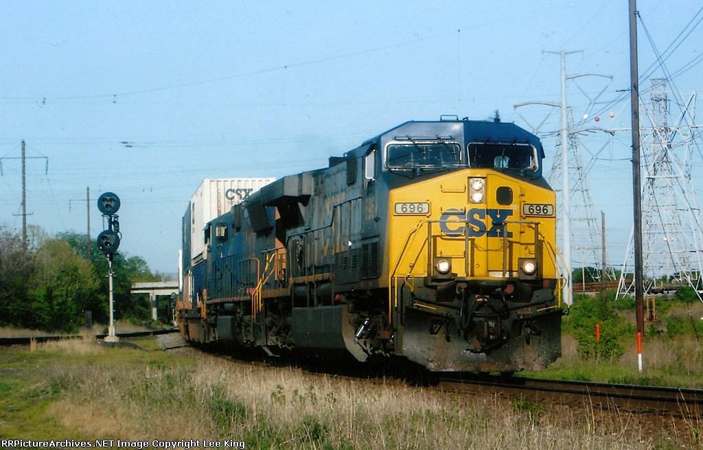 CSX 696 Q191