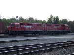 Canadian Pacific 7305 and 7305
