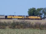 UP 6666 Leading a Coal Train