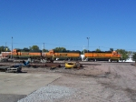 The Trio of Geeps I saw Hours Earlier 70 Miles East of Here in Dorchester Now Rest, Awaiting a New Assignment