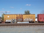 Greenbay and Western boxcar