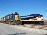 L&N 796 sits next to CSX 6390 and CSX 6930 in the Memphis Junction Yard 10/18/2008