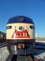 L&N 796 in the sunshine at Memphis Junction Yard 10/18/2008