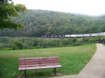 Norfolk Southern 2764, 9801, 9323 at Horseshoe Curve