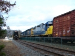 CSX 2738 and PRR 7000