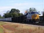 DPU CSX 926 sitting on the siding