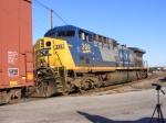 CSX 399 (F783) enters CSX Augusta Yard
