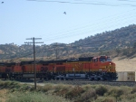 Engine #4040 leading a train through Caliente