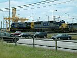CSX 286 and 8504 in the yard