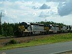 CSX backlit NB Freight