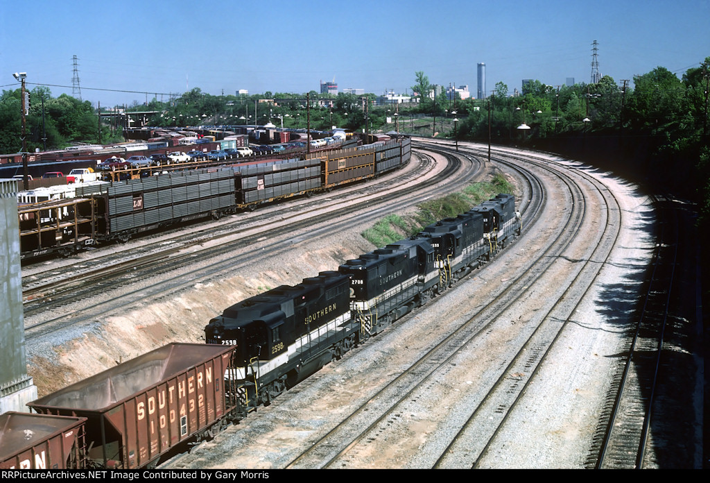 Southern freight at Inman Yard - Atlanta