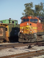 Heritage II and Caboose