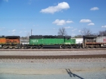 BN Green with BNSF patching