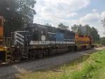 BPRR 3119 on rail train