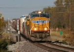 UP 4251 rolling southbound