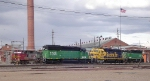 SD40-2 and GP38's