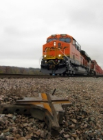 Westbound BNSF Intermodal