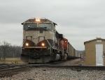 Westbound BNSF Empty Coal Train