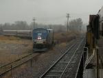 Northbound Amtrak Train