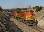 Eastbound BNSF High Priority Freight Train