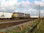 KCS switchers at Airline yard.