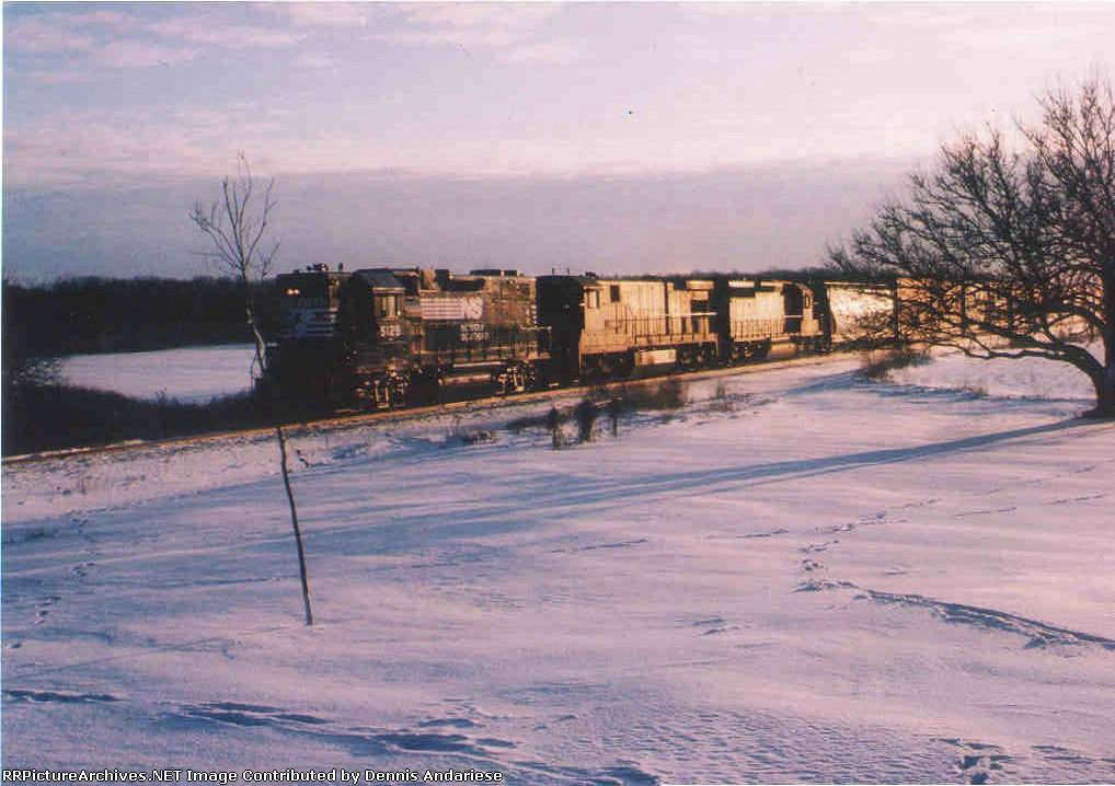 Snowy trip to Detroit