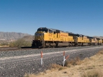 UP 4533 leads a WB doublestack at 12:29pm