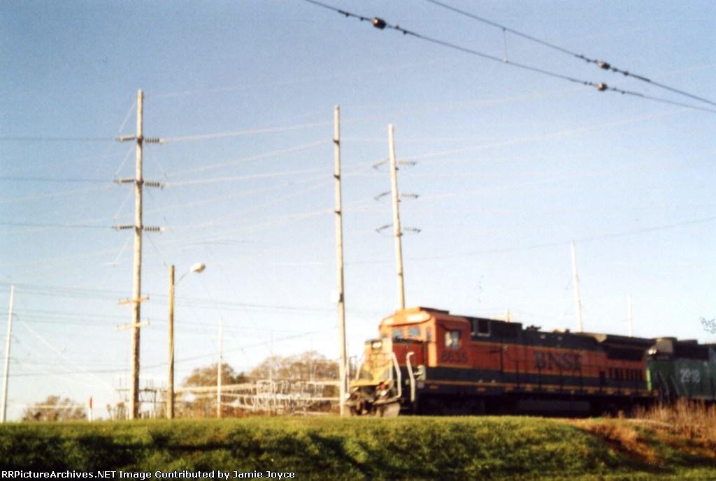 BNSF 8635