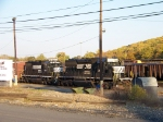 Norfolk Southern 3421 and 3807