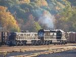 Norfolk Southern 6185 and 862