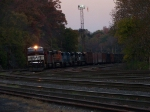 Norfolk Southern 8909 leads the way