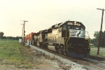 Eastbound stack train on ex NKP