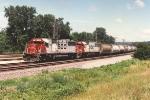 Eastbound potash train