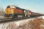 Westbound ore train