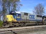 CSXT 8509 At New River Jct