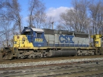 CSXT 8028 On CSX Q 501 At New River Jct
